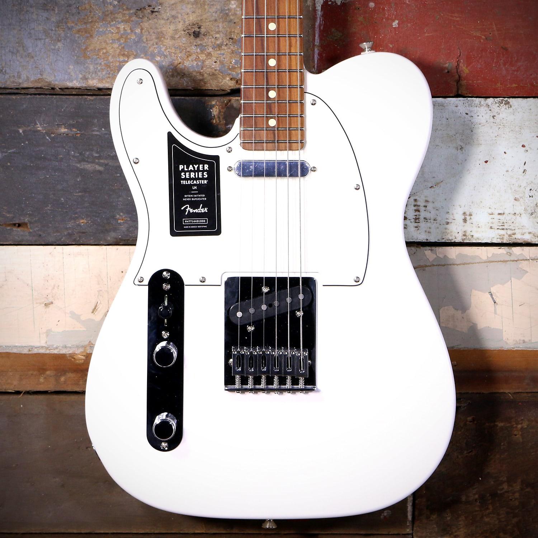 Fender Player Telecaster Left Handed Polar White Pao Ferro