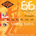 Rotosound  RS666LD 6 String Stainless Steel Roundwound Bass Guitar Strings 2016 35-130 image