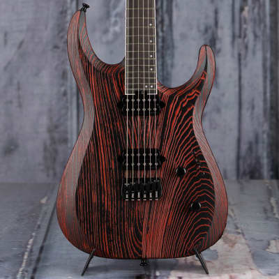 Jackson Pro Series Dinky DK Modern Ash HT6, Baked Red for sale