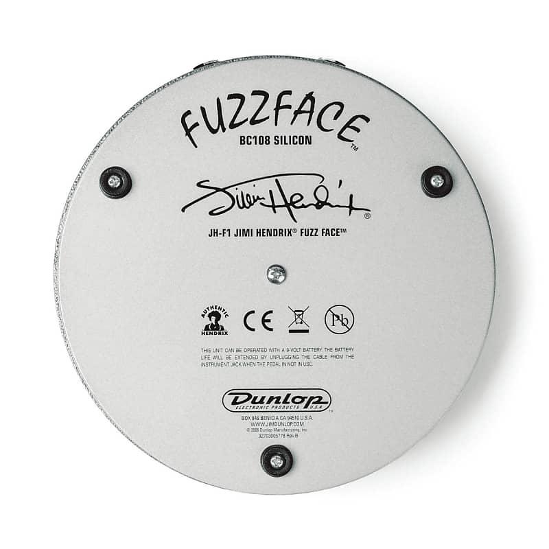 dunlop jh f1 jimi hendrix fuzz face pedal musiciansbuy reverb. Black Bedroom Furniture Sets. Home Design Ideas