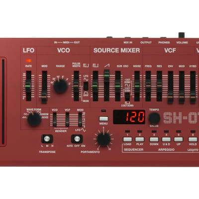 Roland SH-01A-RD Synthesizer - Red