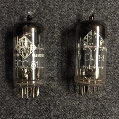 Telefunken 12AT7 / ECC81 Pair (Vintage)