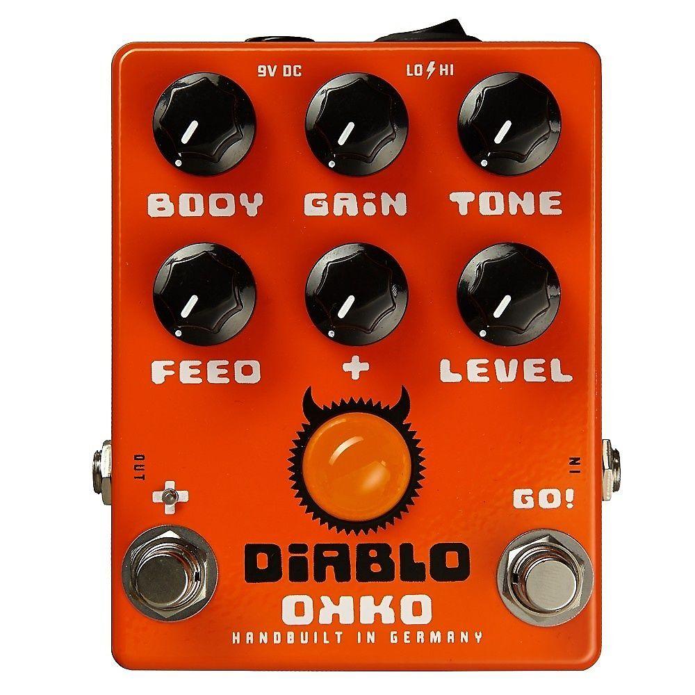 OKKO Diablo Overdrive | Reverb on