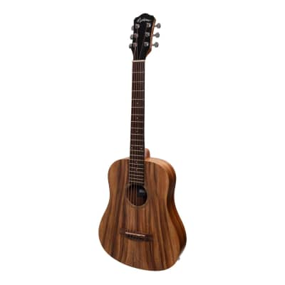 Martinez Acoustic-Electric Babe Traveller Guitar with Built-In Tuner (Rosewood) for sale