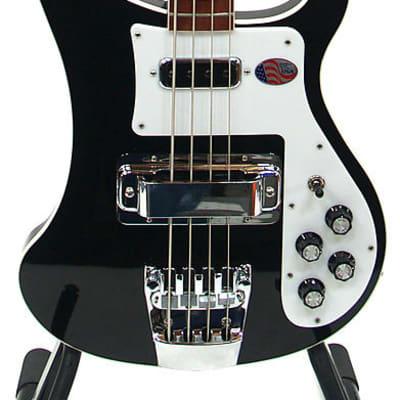 Rickenbacker 4003 JG JetGlo Electric Bass Guitar w/ Hard Shell Case for sale