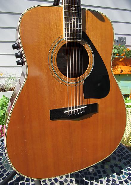 yamaha vintage 1985 fg 450 se rare acoustic electric guitar reverb. Black Bedroom Furniture Sets. Home Design Ideas
