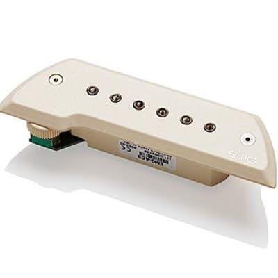 EMG ACS Acoustic Guitar Soundhole Pickup, Ivory w/ Chrome Poles (4653.00) for sale