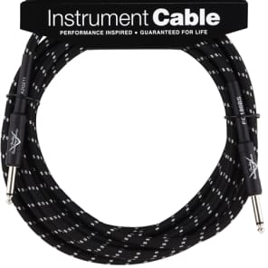 Fender Fender Custom Shop Cable, 20', Black for sale