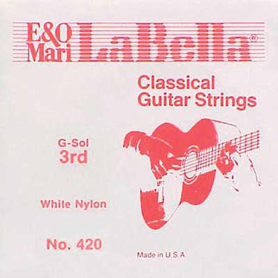 Single LaBella 427 3rd Clear Nylon G for sale