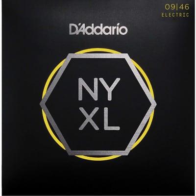 D'Addario NYXL0946 Nickel Wound Electric Guitar Strings, Super Light Top / Regular Bottom Gauge