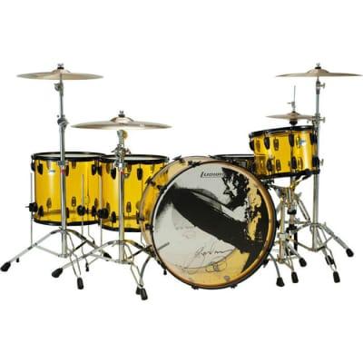 "Ludwig Vistalite Reissue Jason Bonham Signature 10x14 / 16x16 / 16x18 / 14x26"" Drum Set"