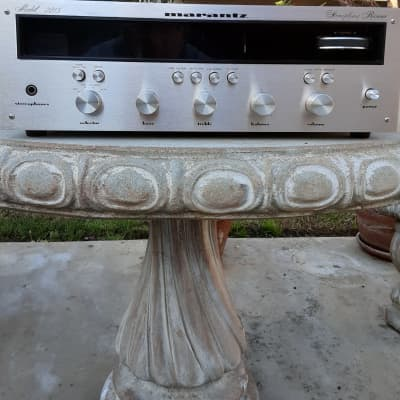 Marantz 2215 Rare, 1971,All boards Recapped, low production#, Champagne engraved face, PRICE reduced