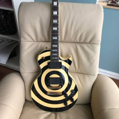 Epiphone Zakk Wylde Custom Les Paul 2008 Ivory Bullseye for sale