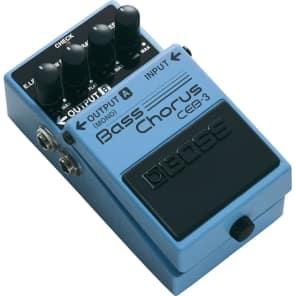 Combo: Boss Bass Overdrive OBD-3 & Boss Bass Chorus CEB-3   Reverb