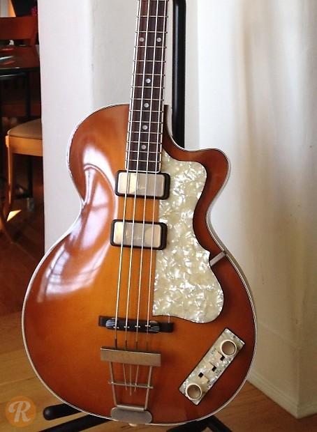 hofner club bass history
