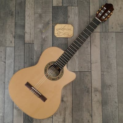 Kremona Fiesta F65CW-SB 'All Solid' Nylon Strung Electro Acoustic, Gloss Natural for sale