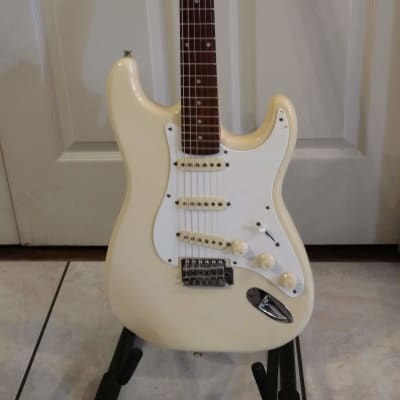 Tanara  Strat Style white guitar for sale