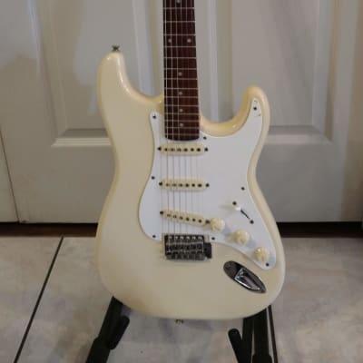 Tanara  Strat Style white guitar for sale
