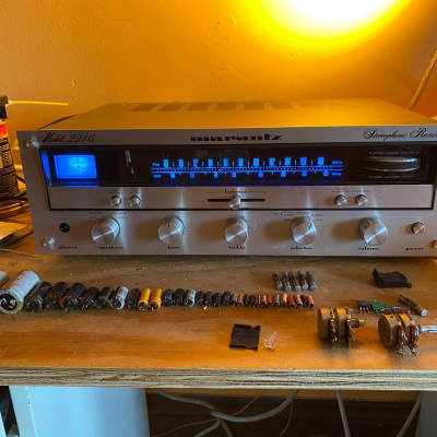 Marantz 2216 Stereo Receiver, Pro Serviced, Upgraded LEDs, Recapped, Vintage MIJ