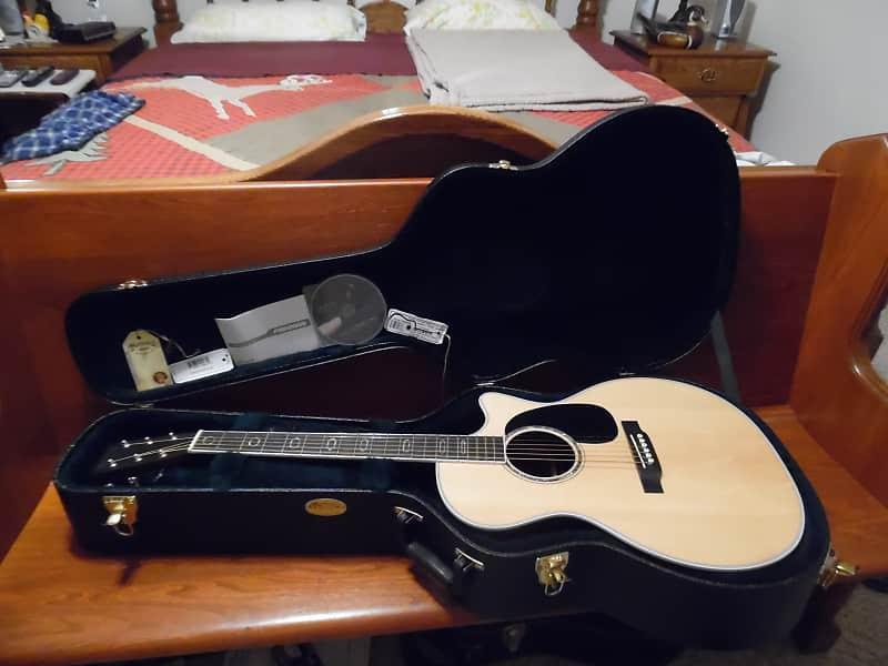 2015 martin gpc aura gt acoustic electric w hard shell case reverb. Black Bedroom Furniture Sets. Home Design Ideas