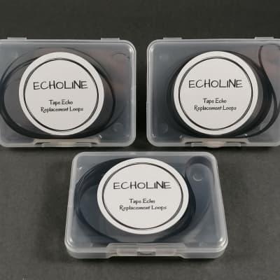 3 X LEM EC20-EC30 Effect Chamber echo tape loops - Echoline loop - tapes