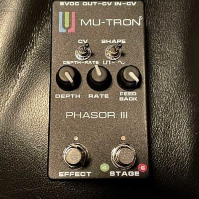 Mu-Tron Phasor III 2020 Black