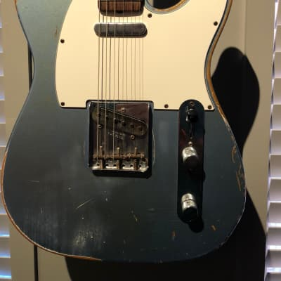Fender '63 Relic C/S Telecaster 2014 Aged Ice Blue Metallic for sale