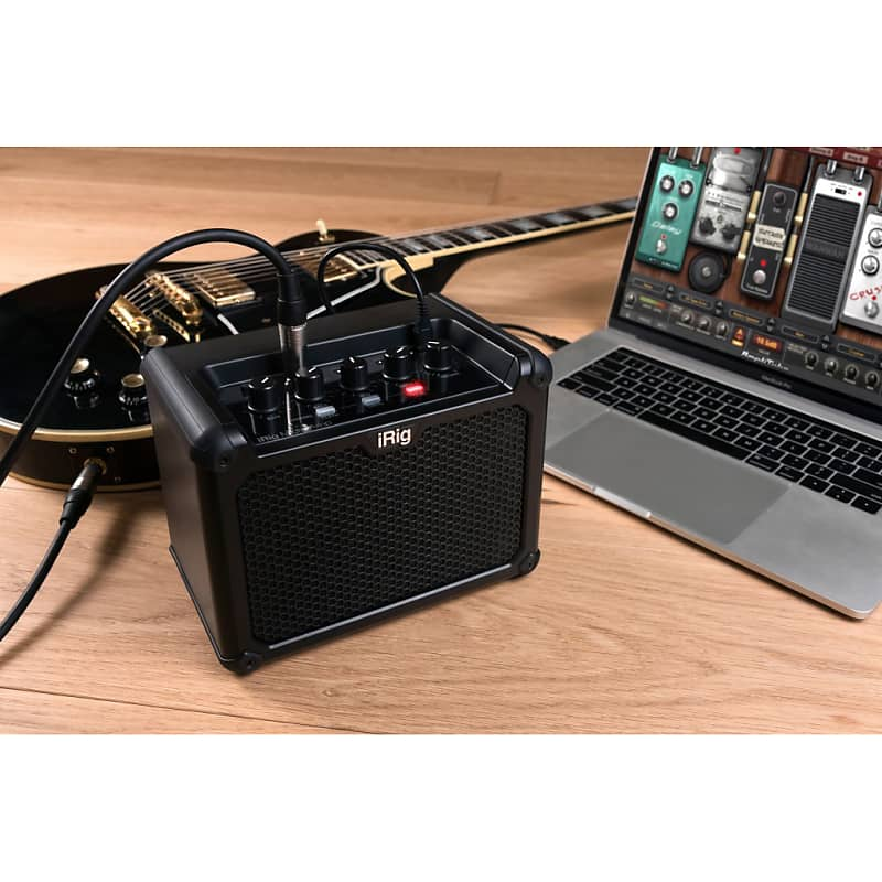ik multimedia irig micro amp guitar amp for ios mac pc reverb. Black Bedroom Furniture Sets. Home Design Ideas