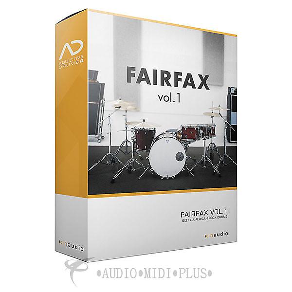 Xln audio fairfax vol 1 addictive drum 2 adpak reverb for A plus motors fairfax
