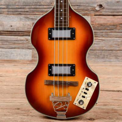 Jay Turser Violin Bass Sunburst USED for sale
