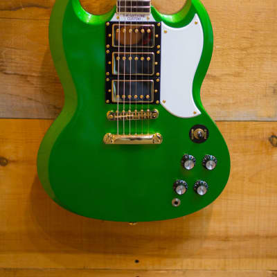 Palermo The 1961 Custom 2018 Inverness Green Limited Edition Guitar w/ Hardshell Case FREE SHIPPING for sale