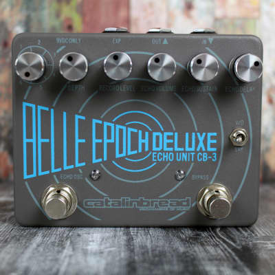 Catalinbread Belle Epoch Deluxe CB3 Dual Tape Echo Emulation for sale