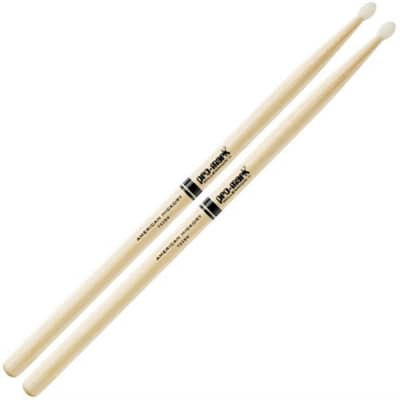 ProMark American Hickory Series Nylon Tip Drum Sticks - 2B