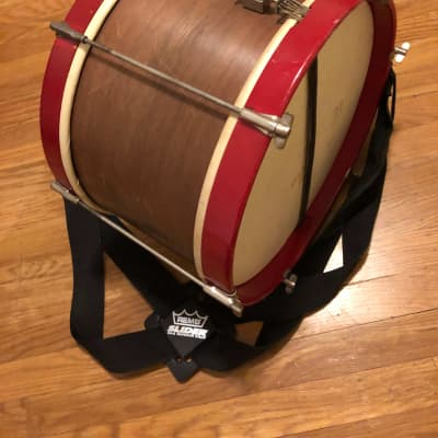 C.G. Conn snare drum 1940-1950 red/brown