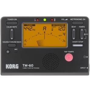 Korg TM-60-BK Tuner Metronome