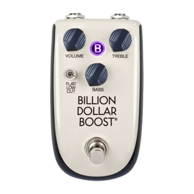 DANELECTRO - BILLIONAIRE  - Billion Dollar Boost Guitars Effects Pedal for sale