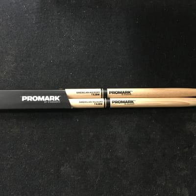 Pro-Mark TX2BW Hickory 2B Wood Tip Drum Sticks (Pair)