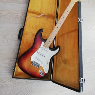 Greco Stratocaster Matsumoko Japan Lawsuit Sunburst OHSC only owner since 1976 for sale