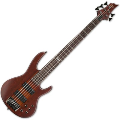 ESP LTD D-5 Bass in Natural Stain