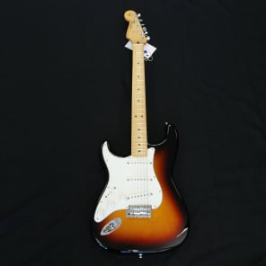 Fender Standard Stratocaster Left Hand Sunburst for sale