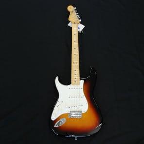 Fender Standard Stratocaster Left Hand Sunburst for sale