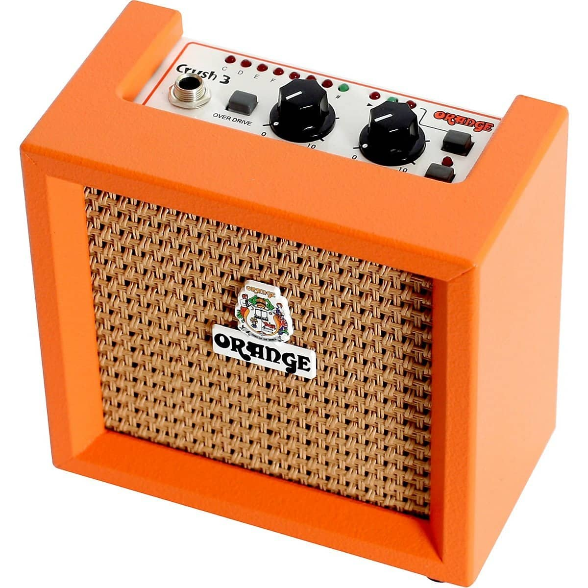 orange micro crush cr3 battery powered mini guitar practice reverb. Black Bedroom Furniture Sets. Home Design Ideas