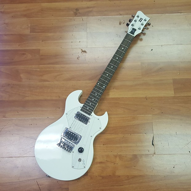 First Act 222 Electric Guitar White