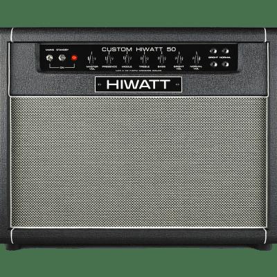"DR504C - Custom Hiwatt 50 Combo w/ 2x12"" British Fane Speakers"