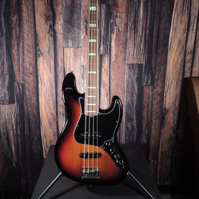 Fender American Deluxe Jazz Bass 2014 Sunburst Active Electronics  Beautiful with Hardshell Case for sale