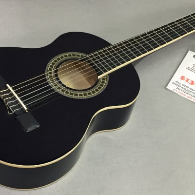 Giannini  GN-R BK Half Sized Acoustic Black Gloss Professionally Set Up! for sale