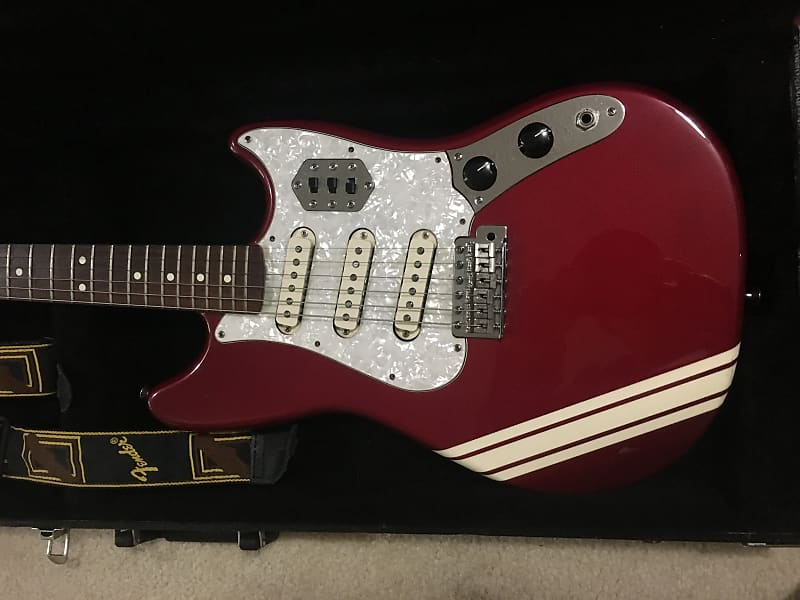 fender cyclone ii 2002 red tc young manor time reverb. Black Bedroom Furniture Sets. Home Design Ideas