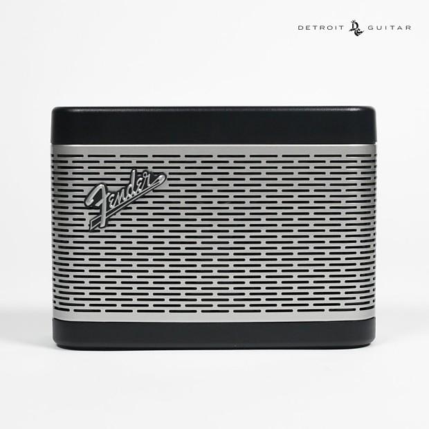 fender newport bluetooth speaker black detroit guitar reverb. Black Bedroom Furniture Sets. Home Design Ideas
