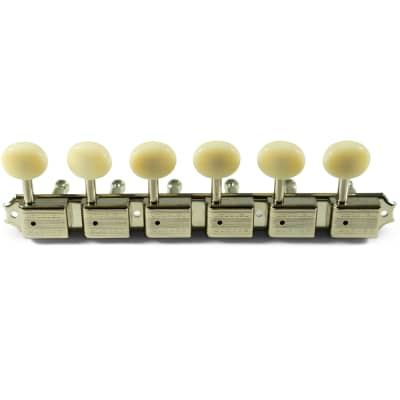 Kluson Kluson 6 On A Plate Supreme Series Tuning Machines 2021 Nickel for sale