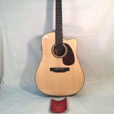 Crossroads Model C-D-80CS N EQ-Acoustic/Electric Guitar-NEW-Shop Setup Included!
